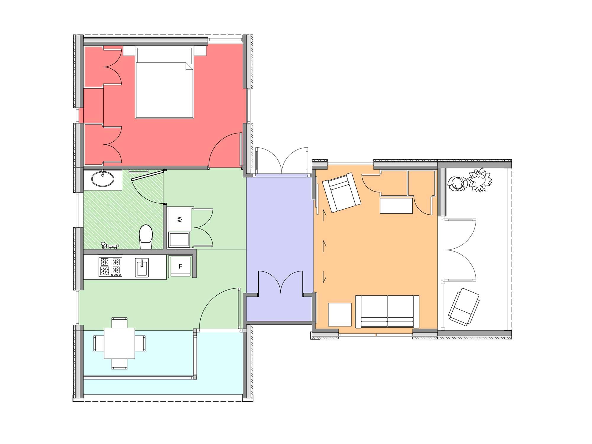 Plan of Te Whare-iti TWI 16