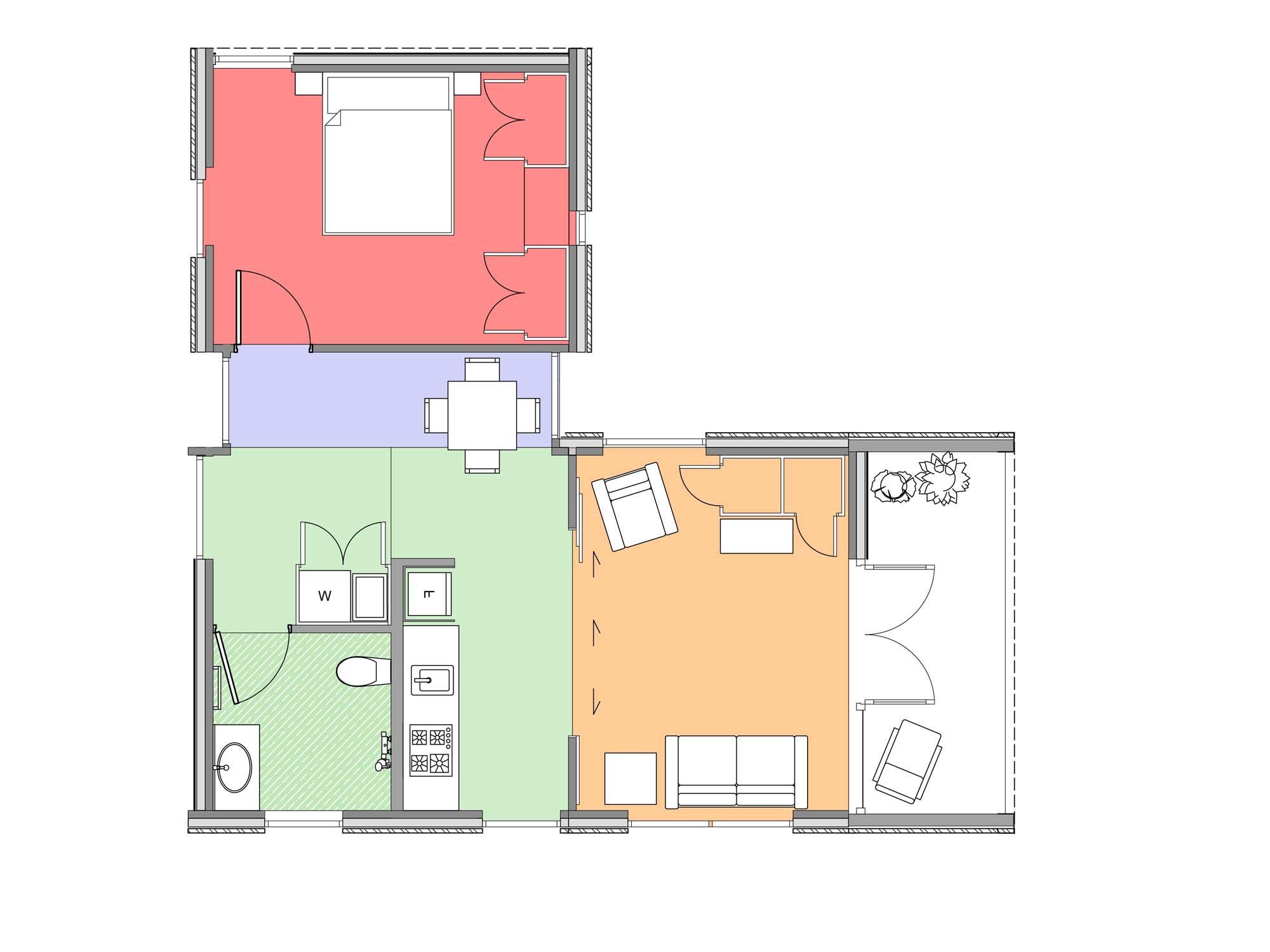 Plan of Te Whare-iti TWI 17M