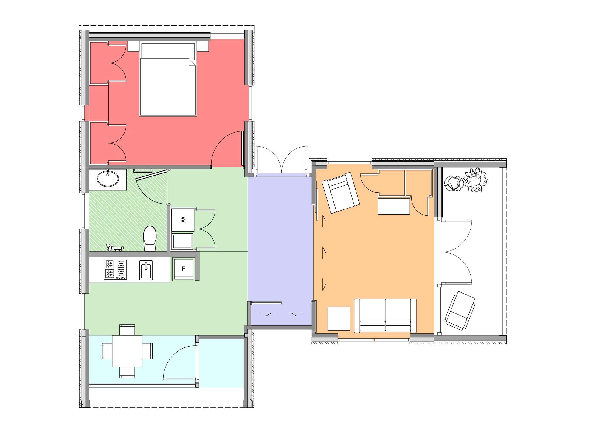Plan of Te Whare-iti TWI 18