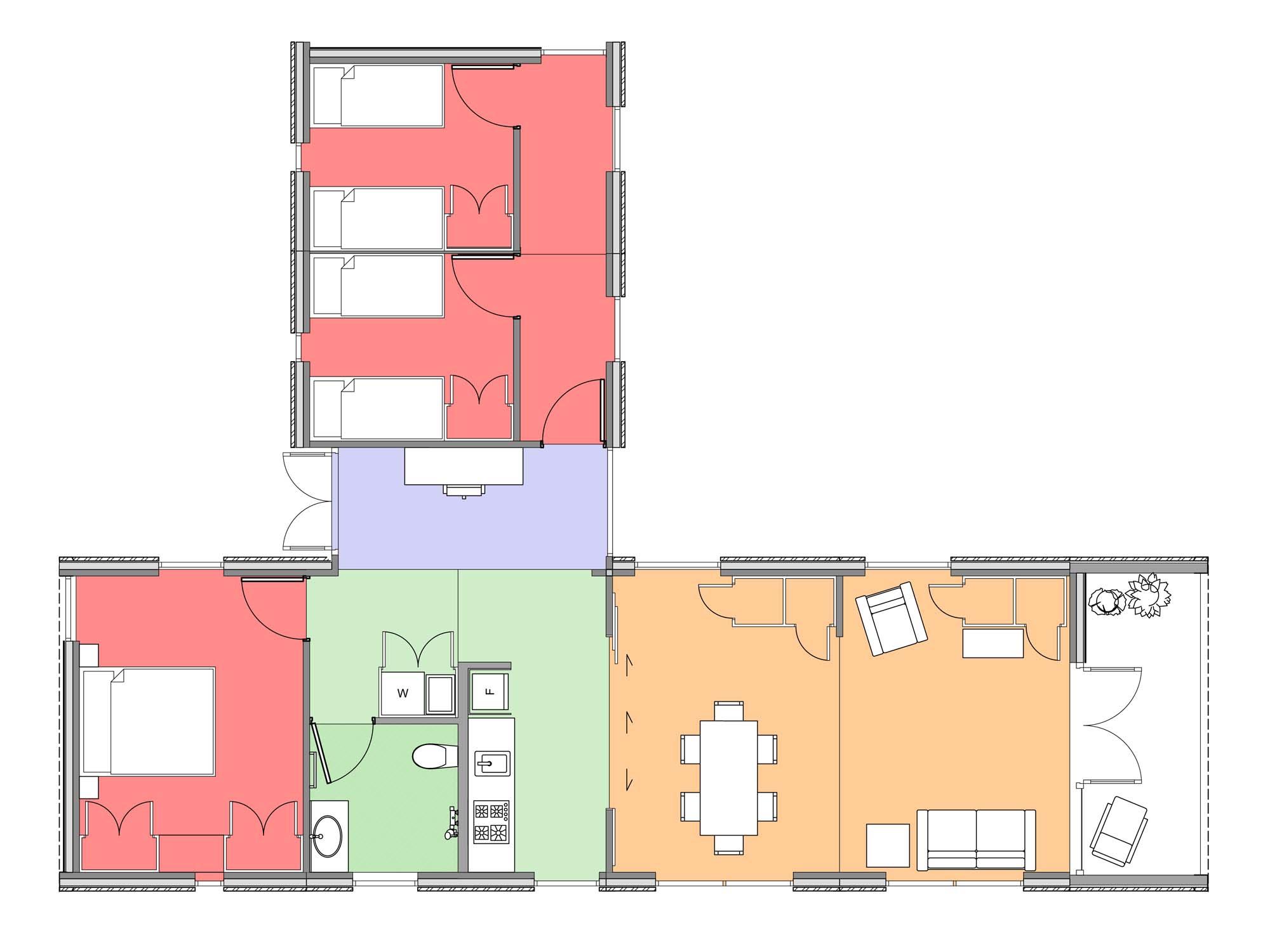 Plan of Te Whare-iti TWI 34