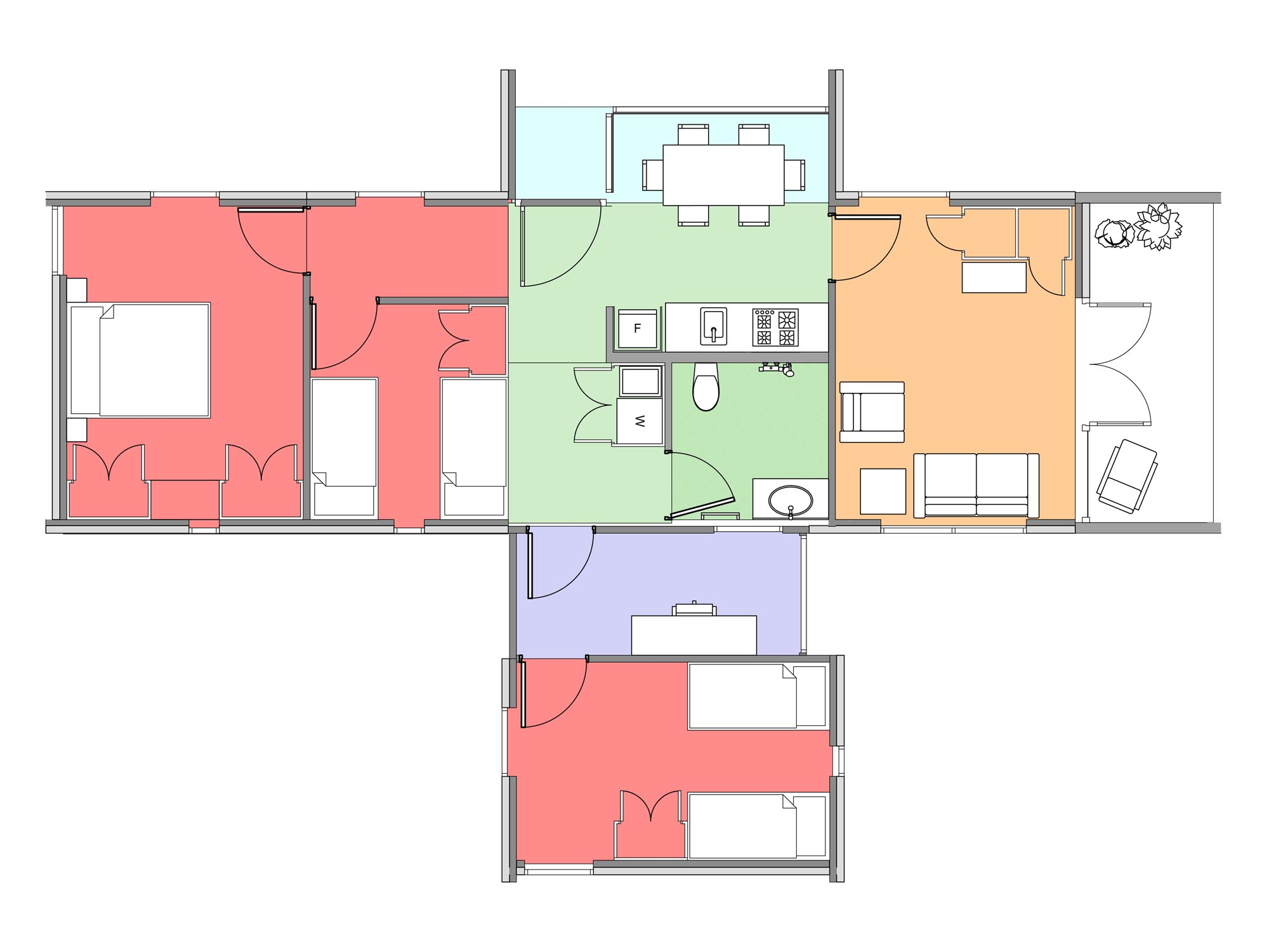 Plan of Te Whare-iti TWI 35